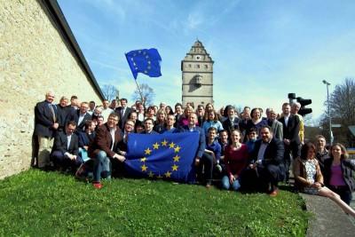 Europa Geburtstag. Bad Neustadt