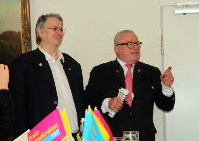 Fritz Haugg und Thomas Sattelberger