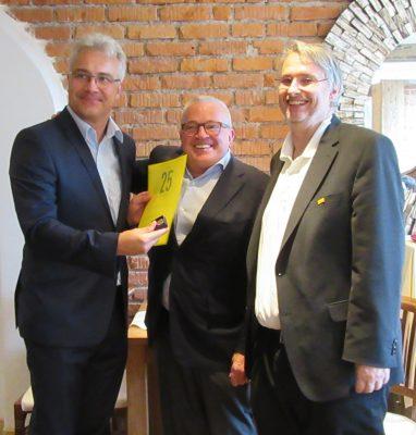 Torsten Mohr, Thomas Sattelberger (MdB), Fritz Haugg