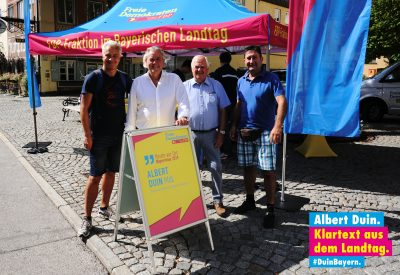 v.l.n.r.: Torsten Mohr, Albert Duin, Günther Fuhrmann, Eddy Häner